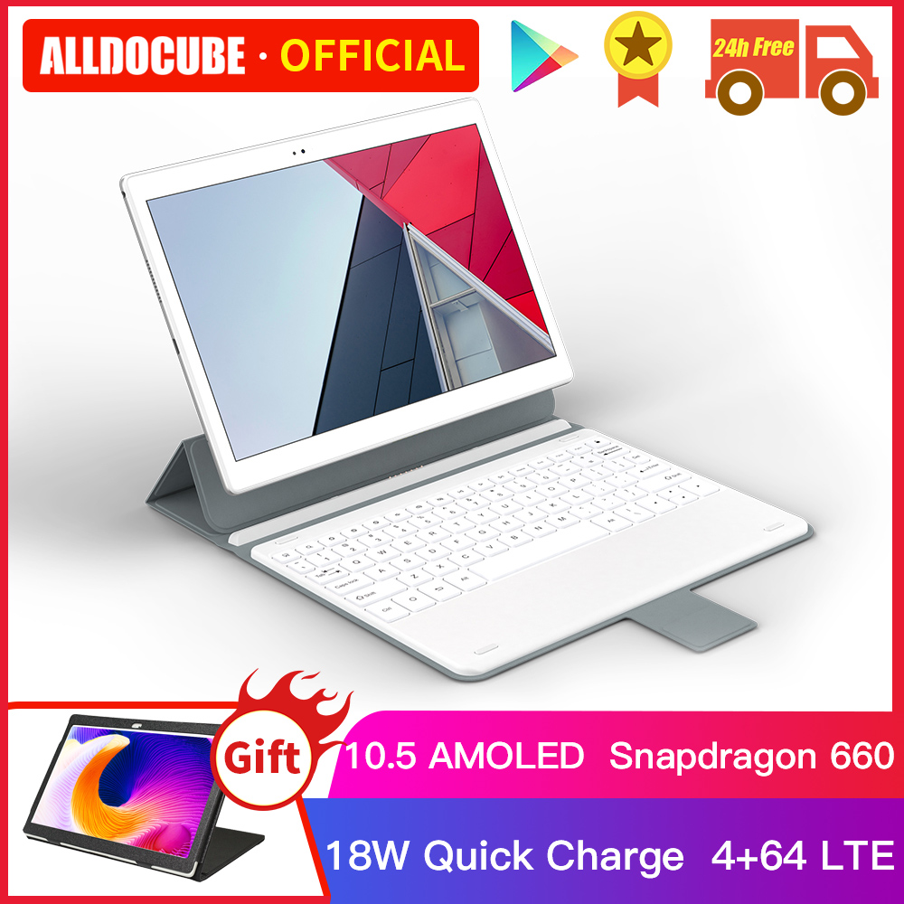 Alldocube X Neo Snapdragon 660, 4GB de RAM 64GB ROM 10,5 pulgadas Super Amoled Dual Android 9,0 4G LTE Tablet