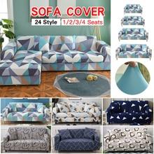 Цветочный Эластичный чехол для дивана, хлопок, все включено, угловой чехол для дивана, чехлы для дивана, для гостиной, домашних животных, copridivano