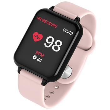 B57 Smart watches Waterproof Sports for iphone phone Smartwatch Heart Rate Monitor Blood Pressure Functions For Women men kid 1