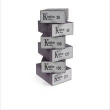 Grit 80 180 240 320 600 1000 Wand Schleifen Schwamm Sand Block Schleifpapier Handwerk Modell Farbe Poliert Sand Ziegel