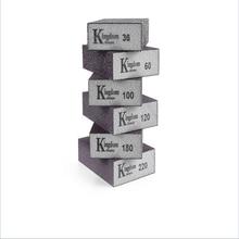 Grit 80 180 240 320 600 1000 szlifowanie ścian gąbka piasek blok papier ścierny Model do rękodzieła farba polerowany piasek cegła