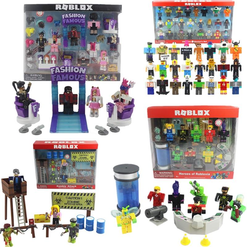 Terno novo Robloxs Figura jugetes Robloxs 7 centímetros Jogo PVC Figuras Meninos Brinquedos para roblox-jogo