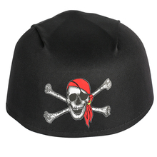 Caribbean Pirate Hat Red Hood Skull Scarf Cap Halloween Crossbone Captain Head Accessories Fancy Party Dresses Unisex Christmas