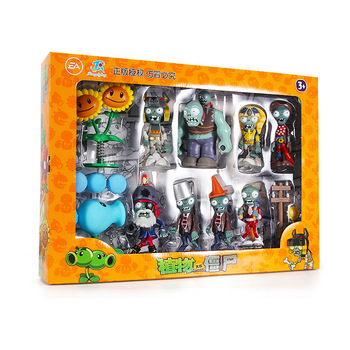 Genuine Plants vs. Zombies Action Figure Model Games Around Shooting Toys Pea Shooter Sunflower Gargantuar Children's gifts недорого