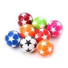 2Pcs 32mm Plastic Table Soccer Ball Football Foosball Fussball Machine Parts jarve mari klaasmeri