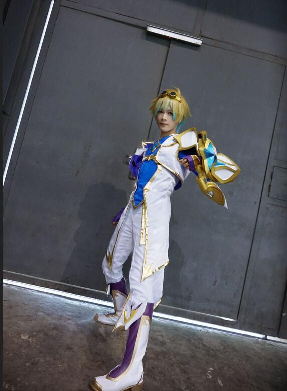 Game LOL Ezreal Cosplay Star Guardian Cosplay Costumes EZ Cos The Prodigal Explorer Costume Full Set Dress