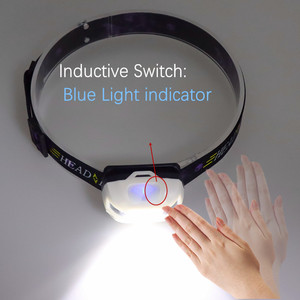 Image 3 - Usb充電式 + バッテリーXML T6 ヘッドランプミニヘッドライトir誘導ledヘッドランプ釣り懐中電灯ヘッドランプトーチ