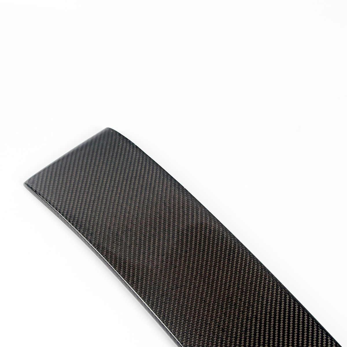 Real Carbon Fiber poiler Wing For Infiniti G37 2007-2014 2 Door Coupe Model  Car Rear Spoiler Rear roof wing spoiler