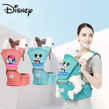 цена на Disney 0-36 Months Breathable Front Facing Baby Carrier 4 in 1 Infant Comfortable Sling Backpack Pouch Wrap Baby Carriers
