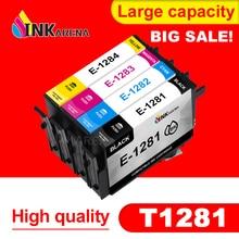 Ink-Cartridge Printer SX125 T1282 EPSON Stylus SX235W Full for T1282/T1283/T1284 4PCS