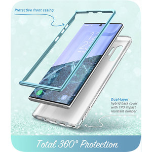 Image 4 - I BLASON For Samsung Galaxy Note 10 Case (2019 Release) Cosmo Full Body Glitter Marble Cover WITHOUT Built in Screen Protector