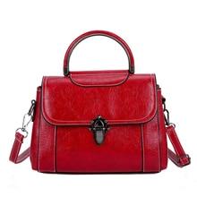 цена на PU Shoulder Bag Vintage Saddle Designer Multi Pocket Office Women Messenger Bag Premium Leather Women's Shoulder Bags Medium Red