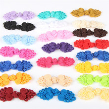 5pcs/lot Chinese Handmade Cheongsam Buttons Knot Fastener DIY Handcraft clothing decorative accessories