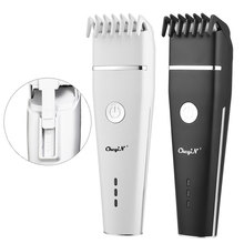 Men's Electric Hair Clipper Rechargeable Cordless Beard Trimmer Ceramic Blade Hair Cuttiing Machine & Limit Comb Haircut Kids