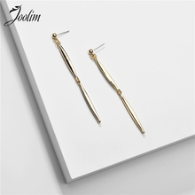 Joolim Gold Color Pointy Drop Earring Dangle Earring joolim double star dangle earring shell drop earring