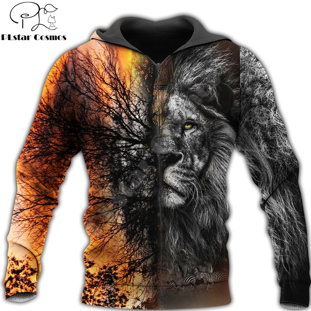 Love Lion King 3D All Over Printed Mens hoodies Harajuku Streetwear Fashion Hoodie Unisex Autumn Jacket Tracksuits Drop shipping