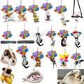 Новые творческие ленивый кот/собака/Подвеска со свиньей рюкзак подвесное украшение брелок для ключей с орнаментом с фотофоны с изображение...