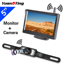 YuanTing Waterproof Built-in Wireless License Plate Rear View Car Reverse Backup Parking
