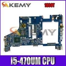 AKEMY 48.4GS01.02N MBPTV01008 MB.PTV01.008 For acer aspire 1830T for Gateway EC19C laptop motherboard HM55 DDR3 I5-470UM CPU