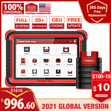 Thinkcar Thinktool Pros OBD2 Professional Full System Diagnostic Scanner Code Reader Programmable scanner ECU Coding Active Test