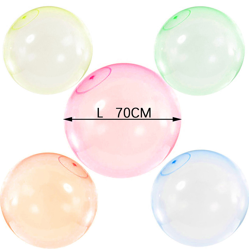 Baby Bubble Balls Outdoor Soft Squishies Air Water Filled Bubble Ball Blow Up Balloon Summer Outdoor Games Bath Party Game Toys