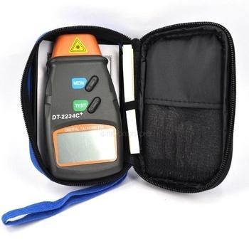 1 pc bezdotykowe narzędzie Tach ręczny cyfrowy tachometr z aparatem Tester RPM silniki z dużym wyświetlaczem LCD tanie i dobre opinie Woopower