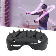 1PC For Oculus Quest 2 Headset Front Face Mask Bump Protector Cover Case With Barbed Nails VR Accessories