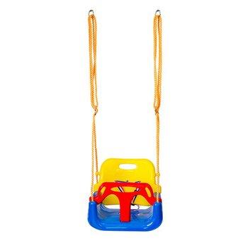 Kryty bezpieczne na zewnątrz zdrowa huśtawka dla dzieci zabawki dla dzieci dziecko głęboki dekolt na plecach PE kosz z tworzywa sztucznego zabawa szalone gry czas wolny tanie i dobre opinie OCDAY 420*380*330mm 1 x Safe Healthy Swing