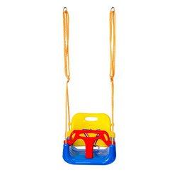 Kryty bezpieczne na zewnątrz zdrowa huśtawka dla dzieci zabawki dla dzieci dziecko głęboki dekolt na plecach PE kosz z tworzywa sztucznego zabawa szalone gry czas wolny