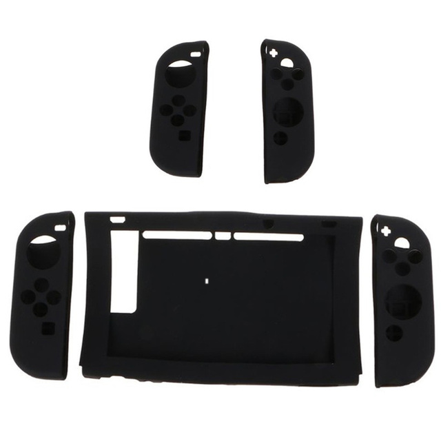 Silicone Protective Case Left Right Dustproof Shockproof Shell Game Accessories For Nintend Switch NS Joy-Con Console Controller