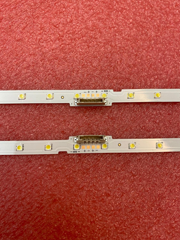Image 2 - Nowy 2 sztuk podświetlenie LED Strip dla Samsung UE49NU7172 UE49NU7670 UE49NU7140 UE49NU7100 NU7100_STS49081_38LEDS_3030F AOT_49_NU7300Części zamienne i akcesoriaElektronika użytkowa -
