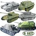 6set Verschiedene Tank Modell Gebäude Kits Militär Montage Pädagogisches Spielzeug Dekoration Material Panther Tiger Turmtiger Assault