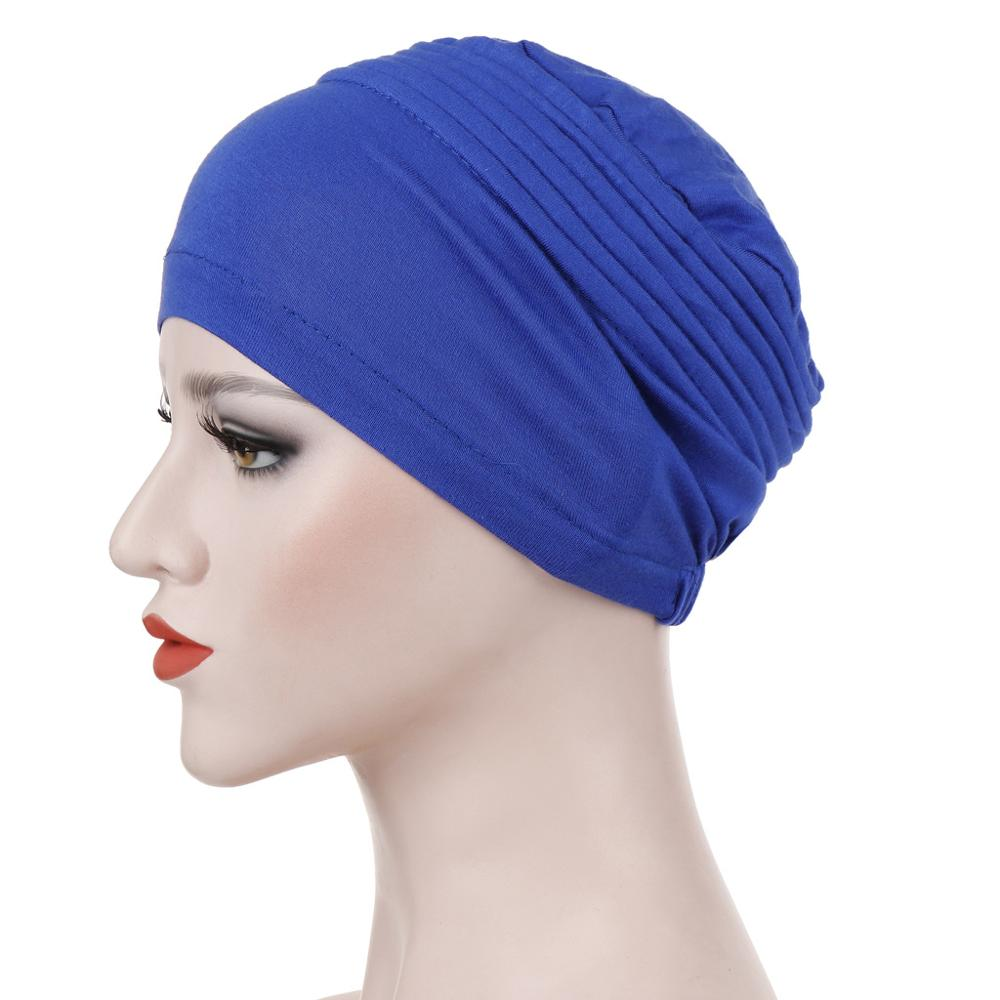 Women Muslim Hijab Scarf Inner Hijab Caps Ladies Islamic Headband Turban Headwrap Hairband Women Muslim Turbante Mujer