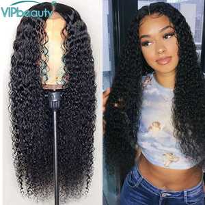 Curly Human Hair Wig 13x4 13X6 HD Lace Front Human Hair Wig 30 Inch 4x4 Closure wig Brazilian 360 lace frontal wig For Women Wig(China)