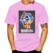 Slugterra – t-shirt manches courtes pour homme, Gris, à la mode, bon marché, avec Logo, Eli Shane Slugslinger
