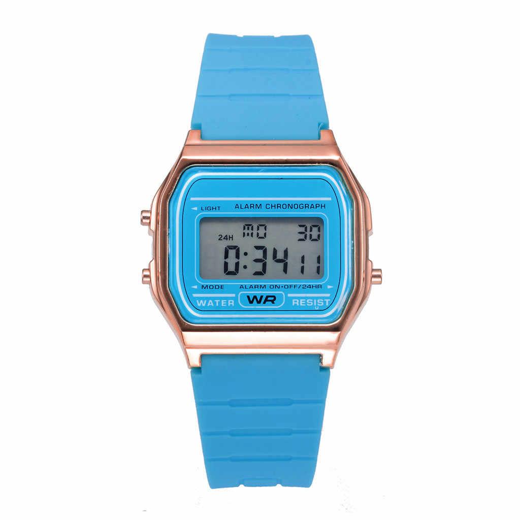 2019 Marca De Luxo Homens Esportes Relógios LED Digital Militar Assista Men Moda Casual Relógios Eletrônicos mulheres Relojes