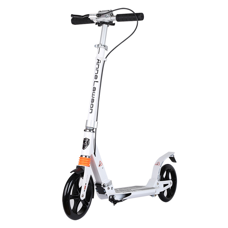 Handbrake, two-wheel scooter, two-wheel foldable child brake scooter, bicycle electric bike for