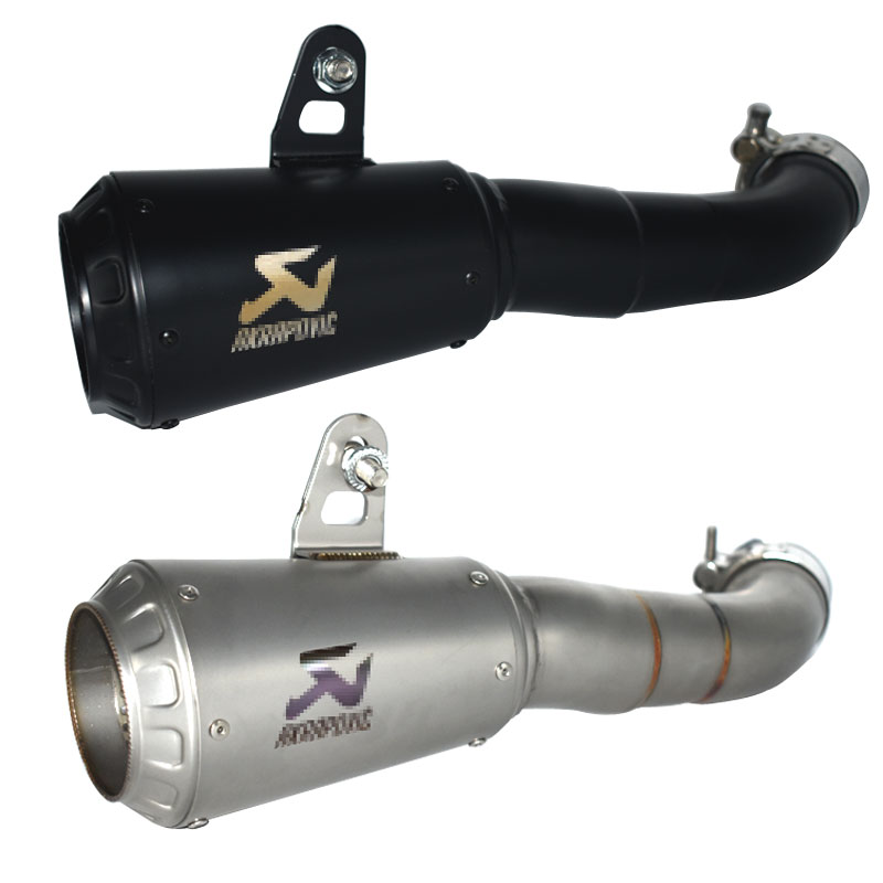 FREE SHIPPING Motorcycle escape akrapovic exhaust motorcycle For Yamaha YZF R3 YZF R25 MT 03 MT03 2015 2016 2017 2018 YZF R3 R25-in Exhaust & Exhaust Systems from Automobiles & Motorcycles    1