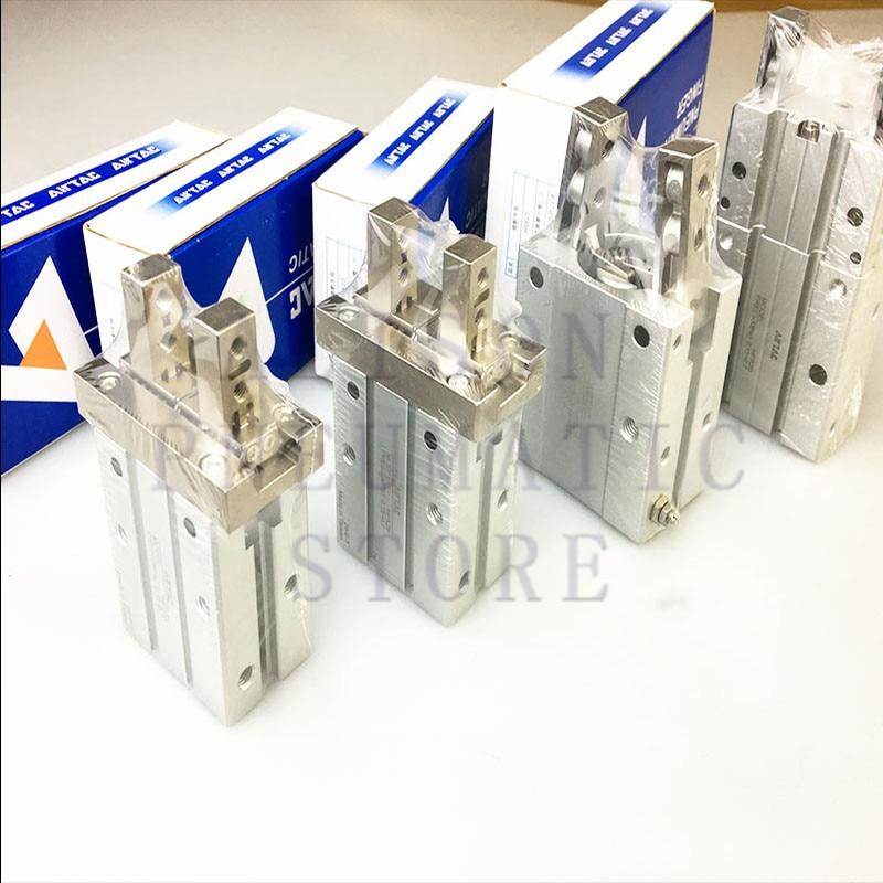 MHZ2-10D Fingerzylinder Luftgreifer Pneumatischer Zylinder harte Oxidation f/ür Roboterarm