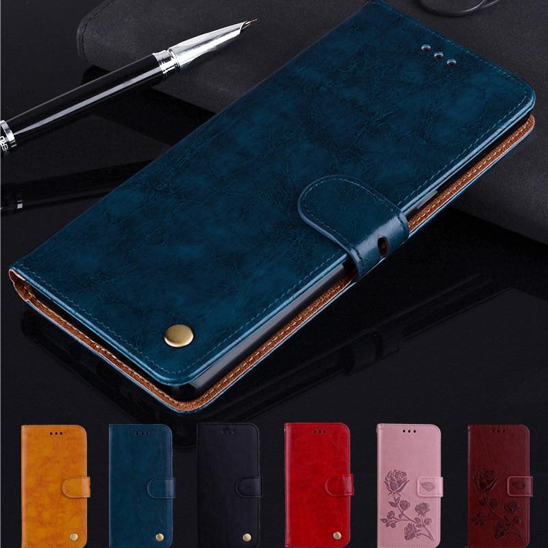 Luxury Leather Flip Case For ZTE Blade V10 V8 V9 Vita A3 A5 A7 2019 A512 A610 Z11 Z18 Z17 Mini S V18 Nubia M2 Lite Coque Case(China)