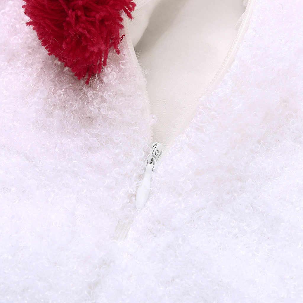 Infantile bébé garçon filles body vêtements noël noël bonhomme de neige modélisation polaire sans manches body écharpe ensemble tenues bébé Onesie