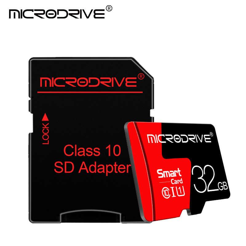 بطاقة ذاكرة ميكرو sd من Hot فئة 10 32 جيجابايت 64 جيجابايت 16 جيجابايت 8 جيجابايت TF tarjeta ذاكرة ميكرو sd بطاقات ذاكرة ميكرو SD للهواتف الذكية/الكمبيوتر/DVR