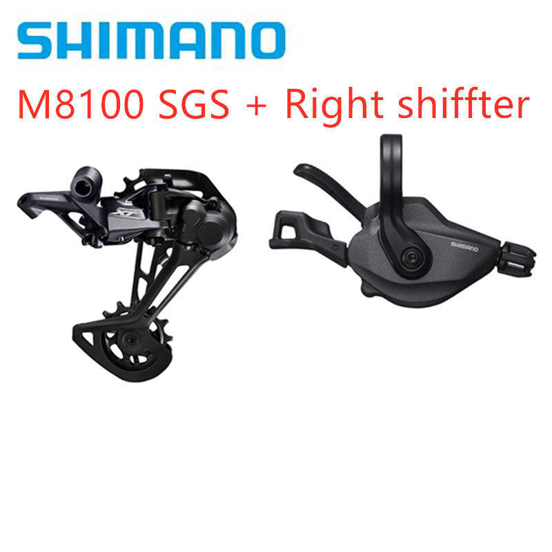SHIMANO DEORE <font><b>XT</b></font> <font><b>M8100</b></font> 1x12-Speed Groupset Mountain Bike Groupset <font><b>M8100</b></font> Shifter LeverSL + RD original <font><b>M8100</b></font> Rear Derailleur image