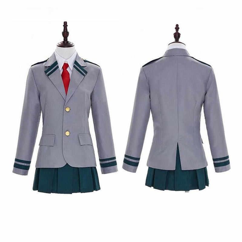Mein Hero Wissenschaft Grün Tal Für EINE Lange Zeit Deku Schuluniform Cosplay Kleidung Halloween Erwachsene Kleidung