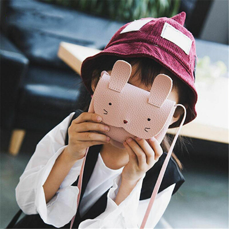 Kids Girls Cute Crossbody Bag Baby Cartoon Messenger Bags Shoulder Bag Wallet
