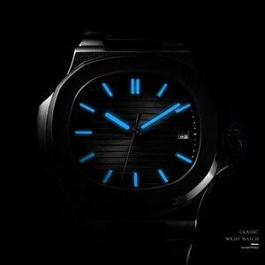 Image 2 - DIDUN Hot top marque de luxe montre hommes 자동 모드 및 acier inoxydable mâle horlogemain 2019