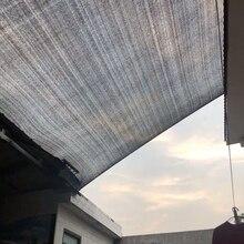 Черный Зонт сетка окно тент парковка Зонт сетка для балконов куриная сетка для растений тент крыша автомобиля балкон конфиденциальности