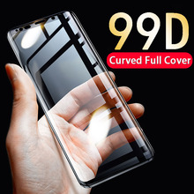 99D Curved Full Cover Protective Glass For Samsung Galaxy S8 S9 Plus S7 S6 Edge Tempered Glass For Samsung Note 9 8 Glass Film все цены