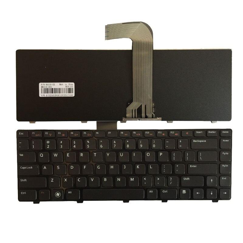 US Keyboard For DELL Inspiron 14R N4110 M4110 N4050 M4040 N5050 M5050 M5040 N5040 3330 X501LX502L P17S P18 N4120 M4120 L502X