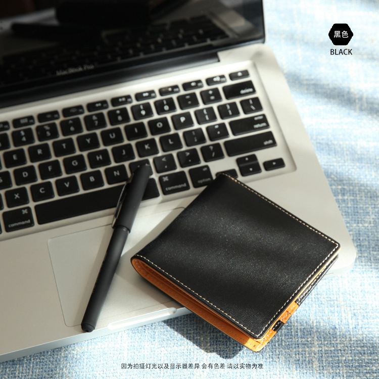 crup leather men wallets handmade purse famous brand coin purses holders